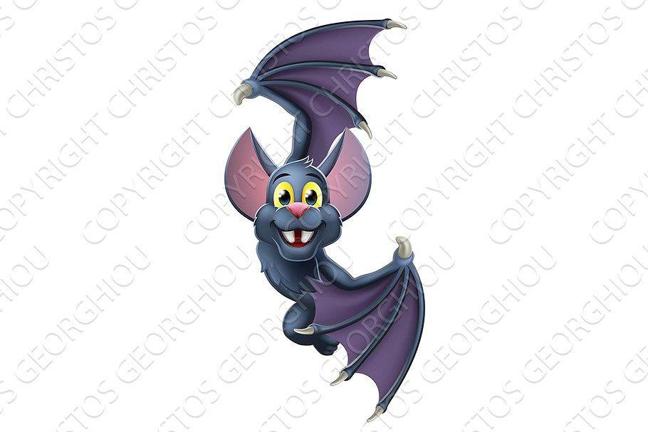 Halloween 2020 Animal Cartoon Halloween Vampire Bat Cartoon in 2020 | Halloween vampire, Vampire