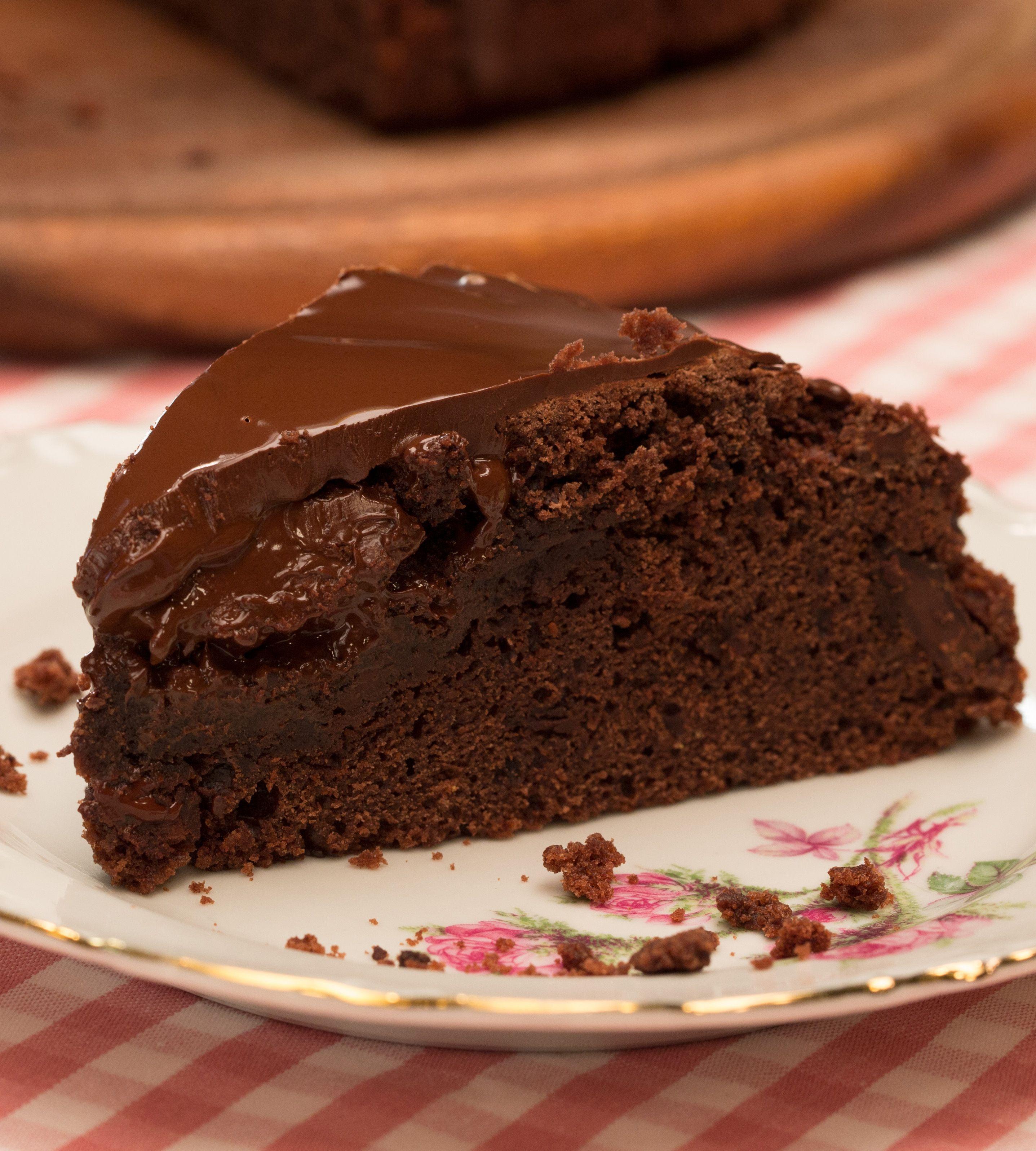 Schokoladenkuchen – saftig und vegan | Rezepte | Chocolate ...