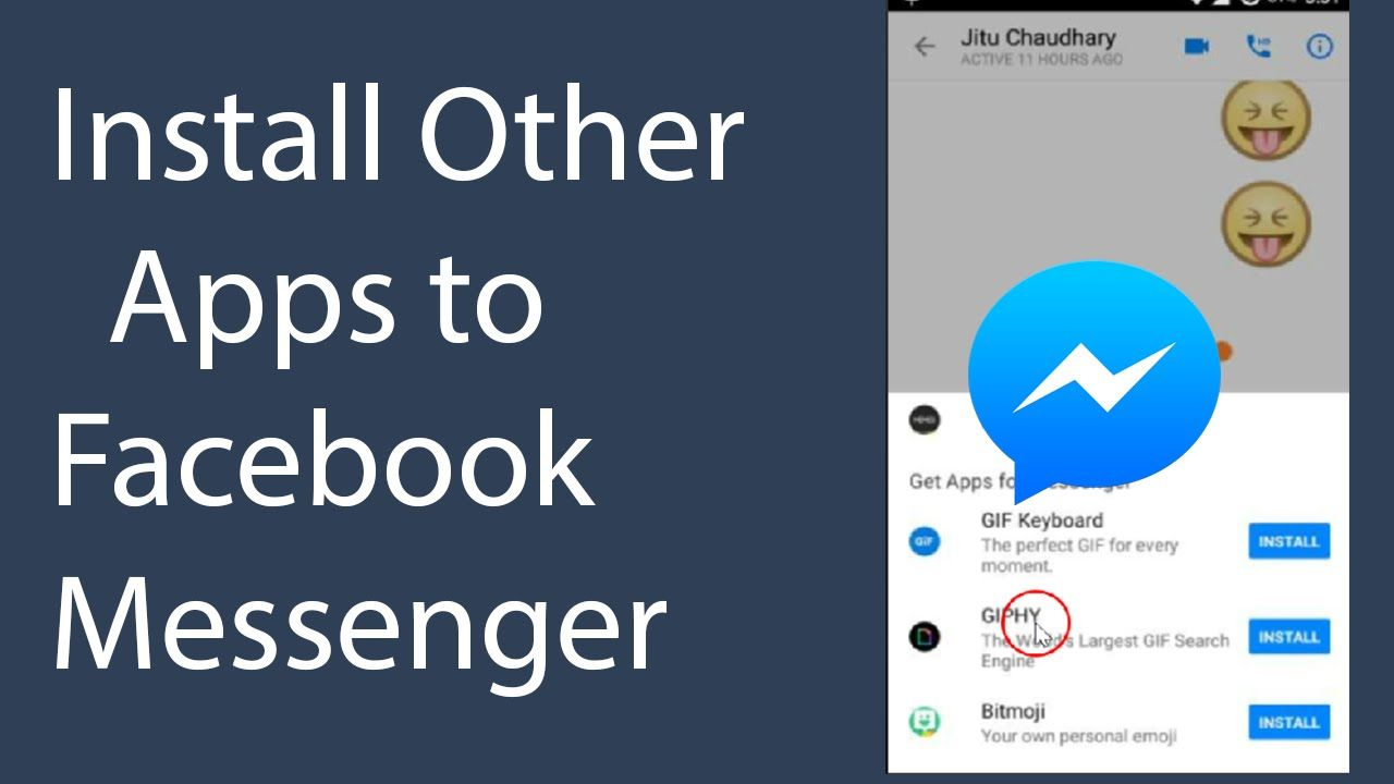 How to install or add other apps to facebook messenger