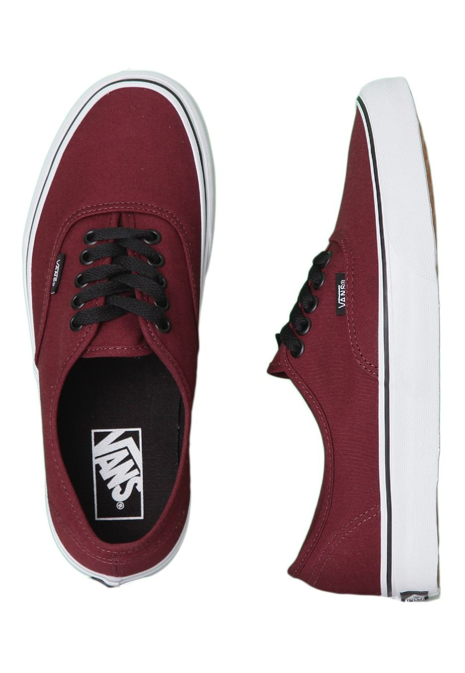 2ad6f9b280695 Vans - Authentic Port Royale Black - Damesschoenen - Official Merchandise  Online Shop - Impericon Nederland