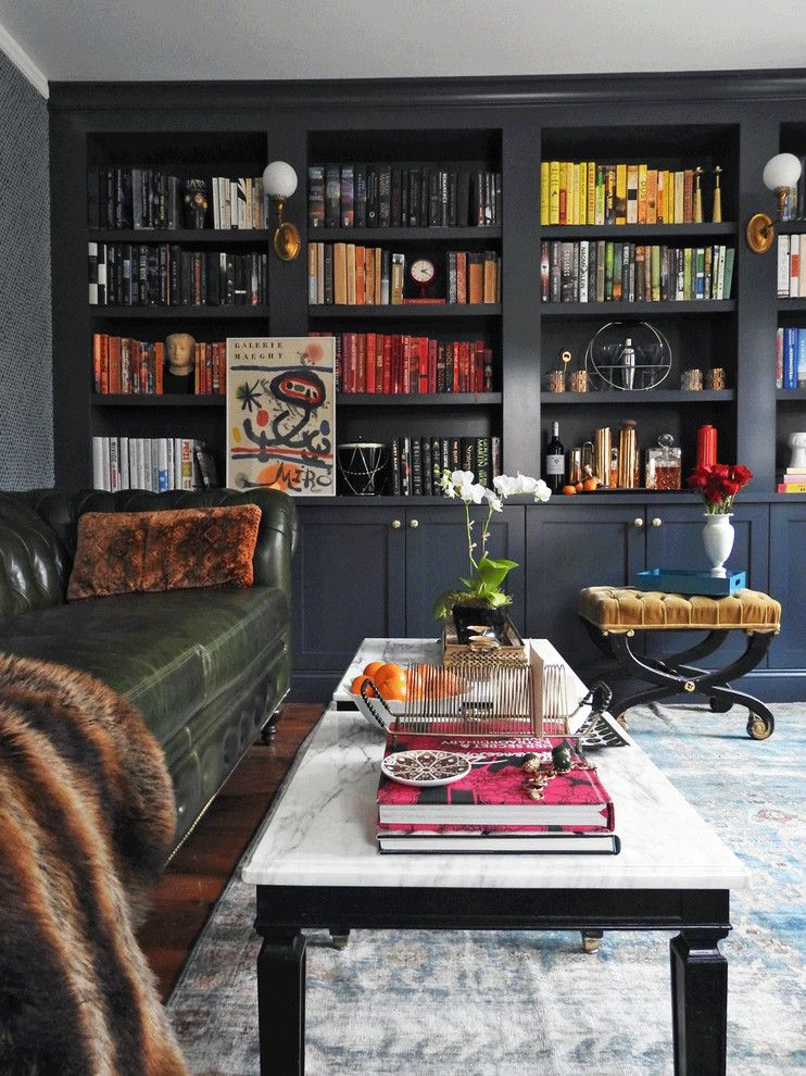Living Room Library Design Ideas: Incredible Home Library Wall Unit Only On Jbirdny.com