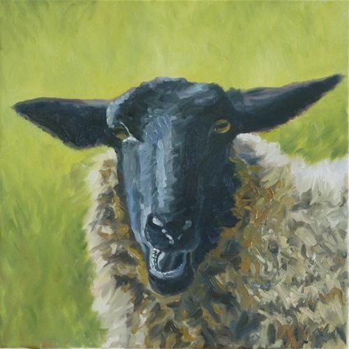 """Wryly"" Peter Lentini Goat art, Art, Watercolor animals"