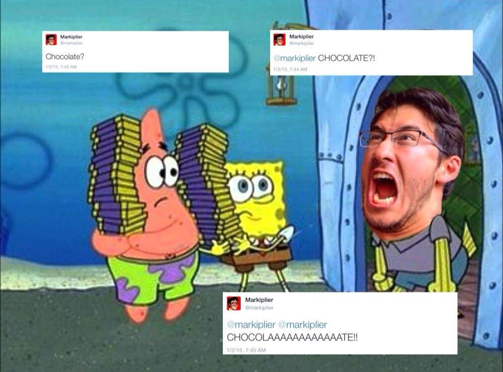 Mark Watches Too Much Spongebob. Markiplier MemesPewdiepieWatch ...