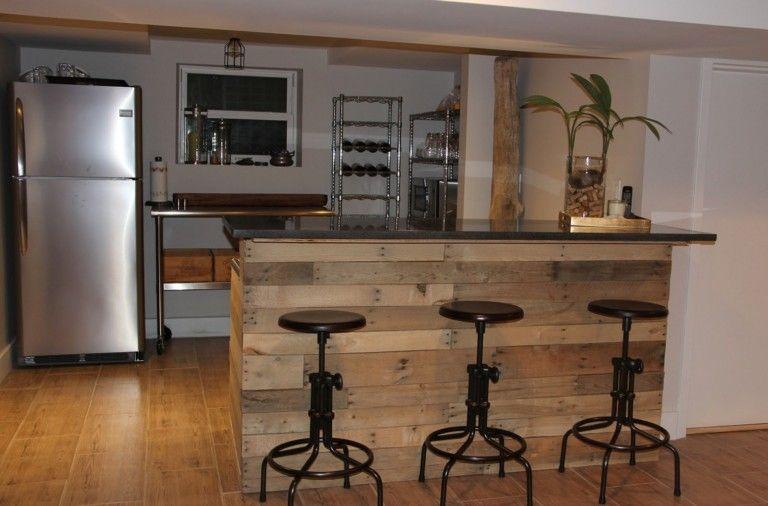 Барная стойка для кухни в стиле лофт | Кухня в стиле ...