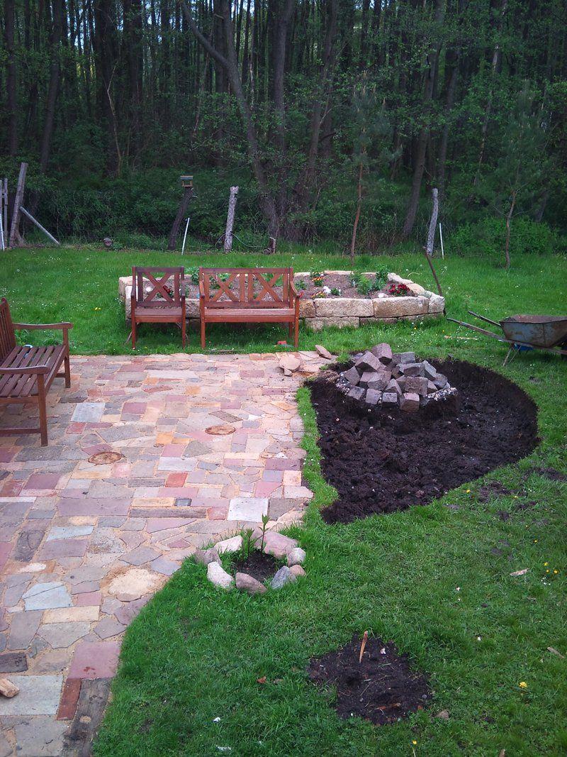 Projekt Patchworkpflaster, EDIT: Jetzt Mit Weidenlaube Im Urigen Garten    Seite 1   Gartengestaltung