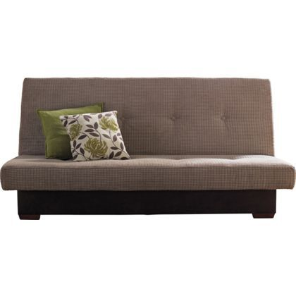 Victoria Clic Clac Storage Sofa Bed Natural At Homebase Be Inspired And Make Your House A Home Now
