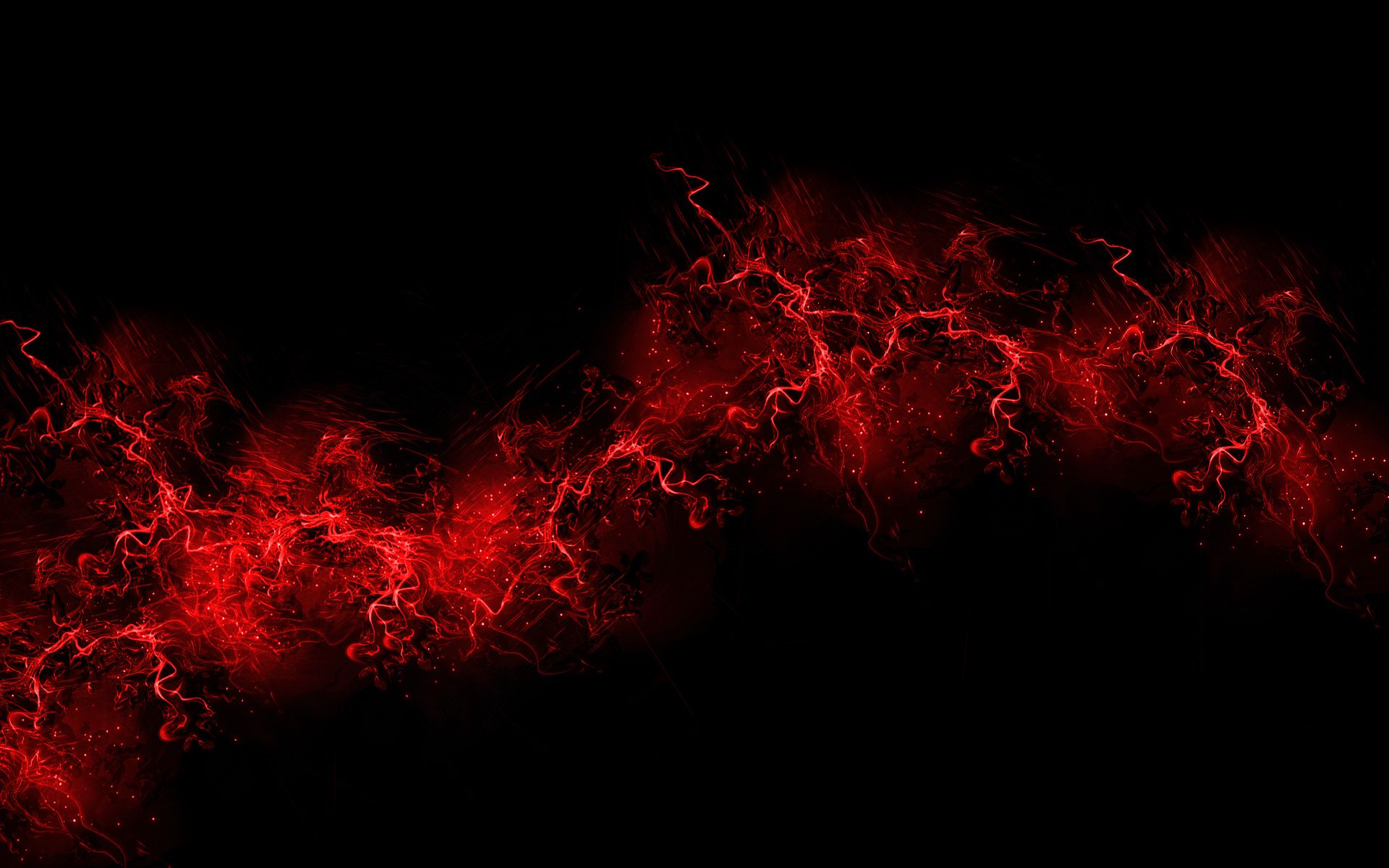 Wallpaper Red Black Dark