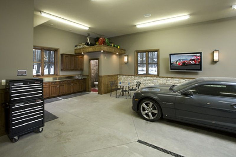 Mini Man Cave Garage : Cave idea man garage workshop designs