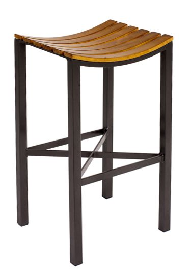 "Parsons Wood Seat Barstool 30"" by Charleston Forge Made in USA http://www.charlestonforge.com/bar-stools/C981_Parsons_Wood_Seat_Barstool"
