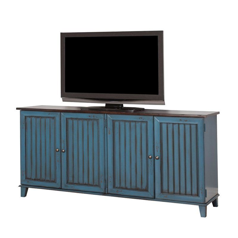 Ordinaire ... 72 TV Console In Blue By Martin Furniture At Furniture Sale Prices From  Our TV Stands Department Or Compare By SKU ET370 Online At OneWay Furniture.