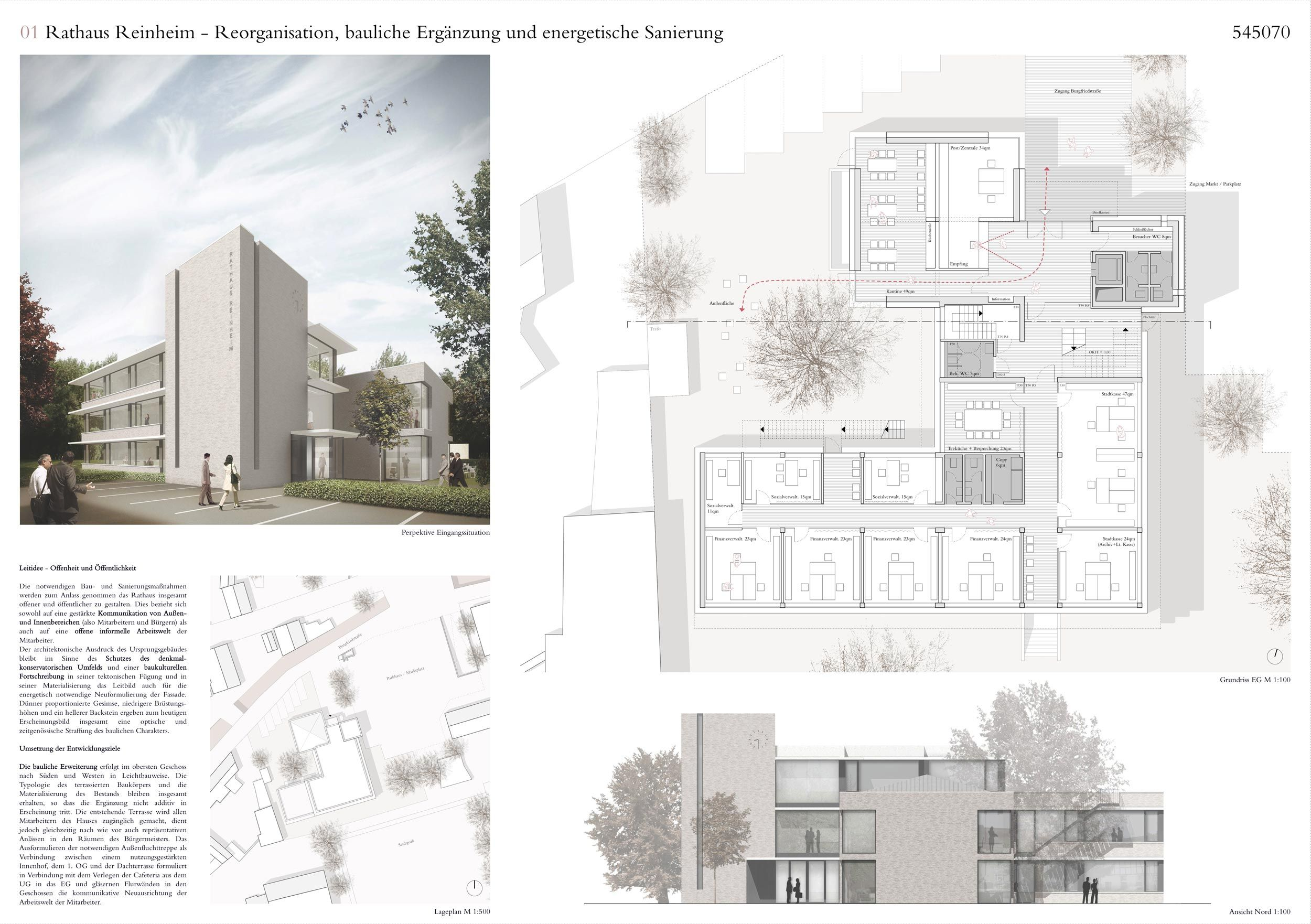 2 preis plan 01 gernot schulz architektur gmbh for Architektur layouts