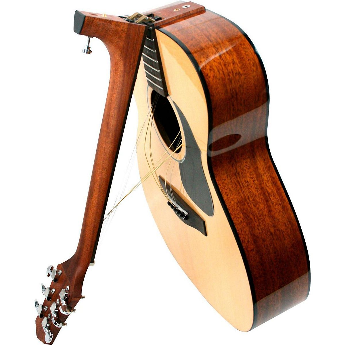 Voyage Air Transit Vaom 02 Travel Acoustic Guitar Guitar Design Acoustic Guitar Guitar