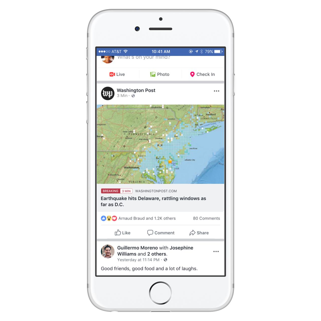 Enabling publishers to label breaking news on facebook
