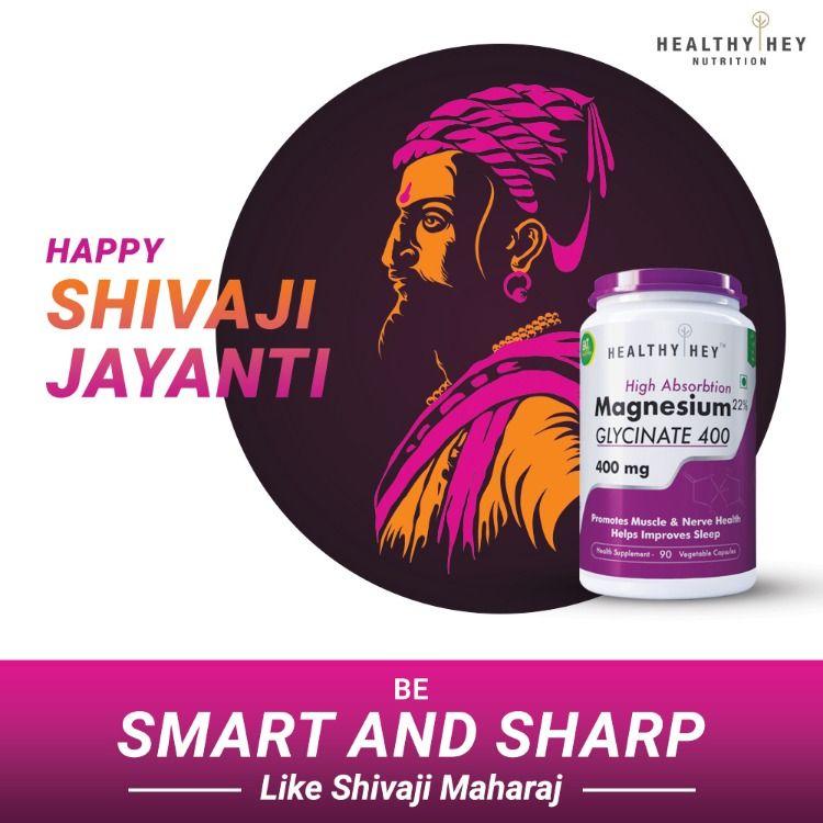 Happy Shivaji Jayanti. ShivajiJayanti