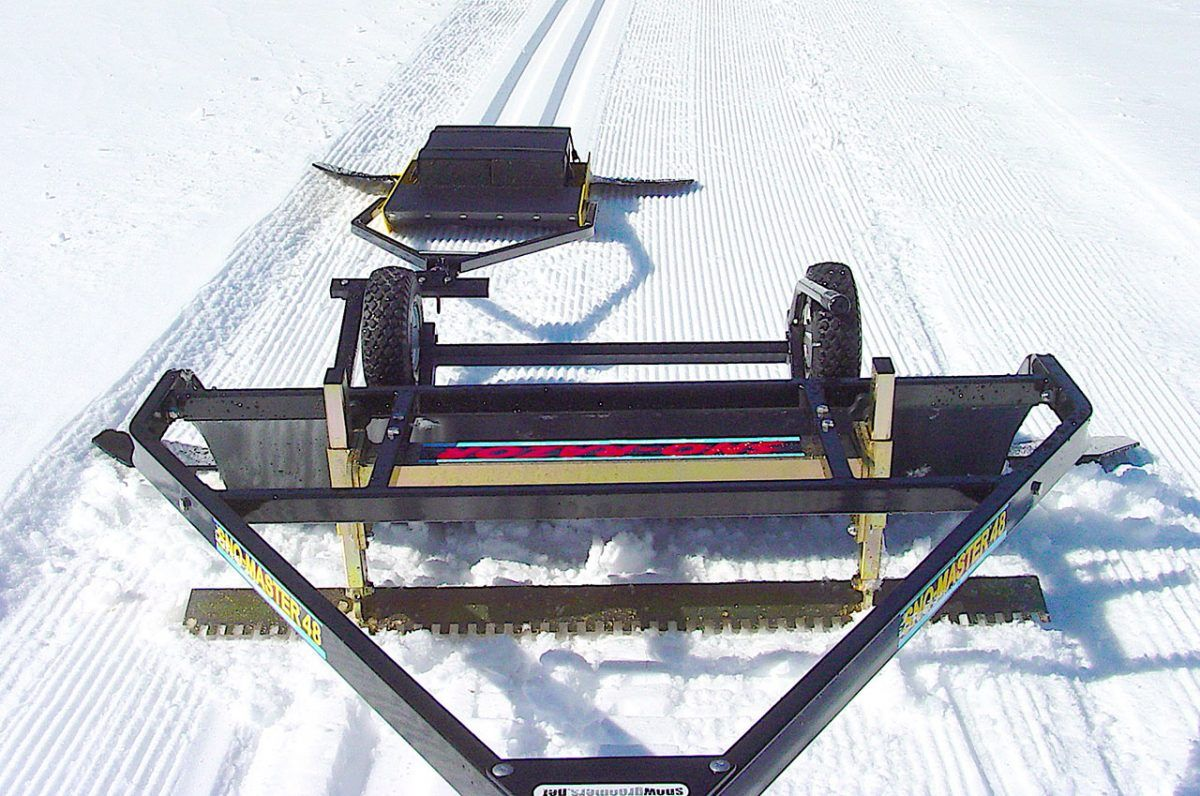 Sno Master 48 Nordic Cross Country Snow Groomer Groomer Cross Country Cross Country Skiing