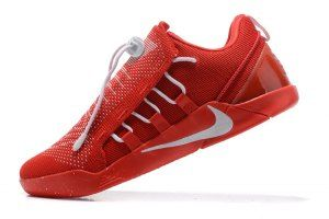 huge selection of d2b61 f21e2 Men s Nike Kobe A. D. NXT Bryant Flyknit Red White 882409 600 boys Basketball  Shoes