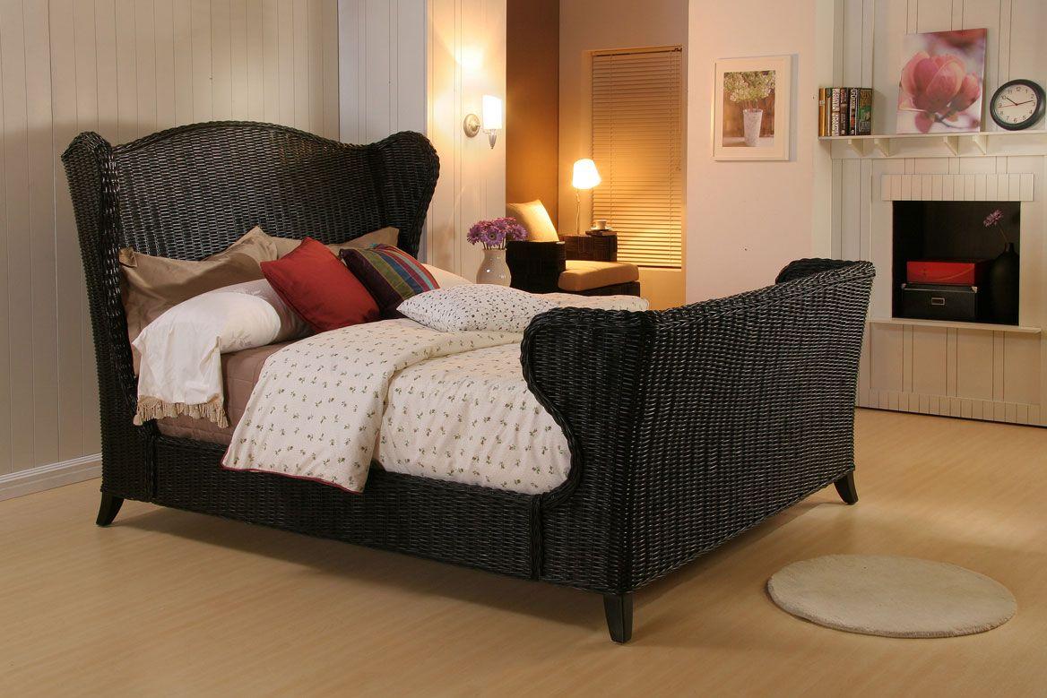 Classic White Wicker Bedroom Furniture | Interior Design Ideas ...