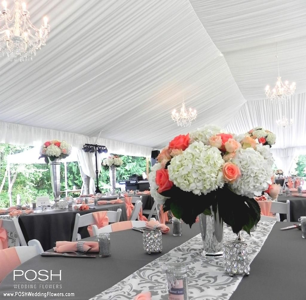Low centerpiece - These can do double duty as your aisle decor - 5 ...