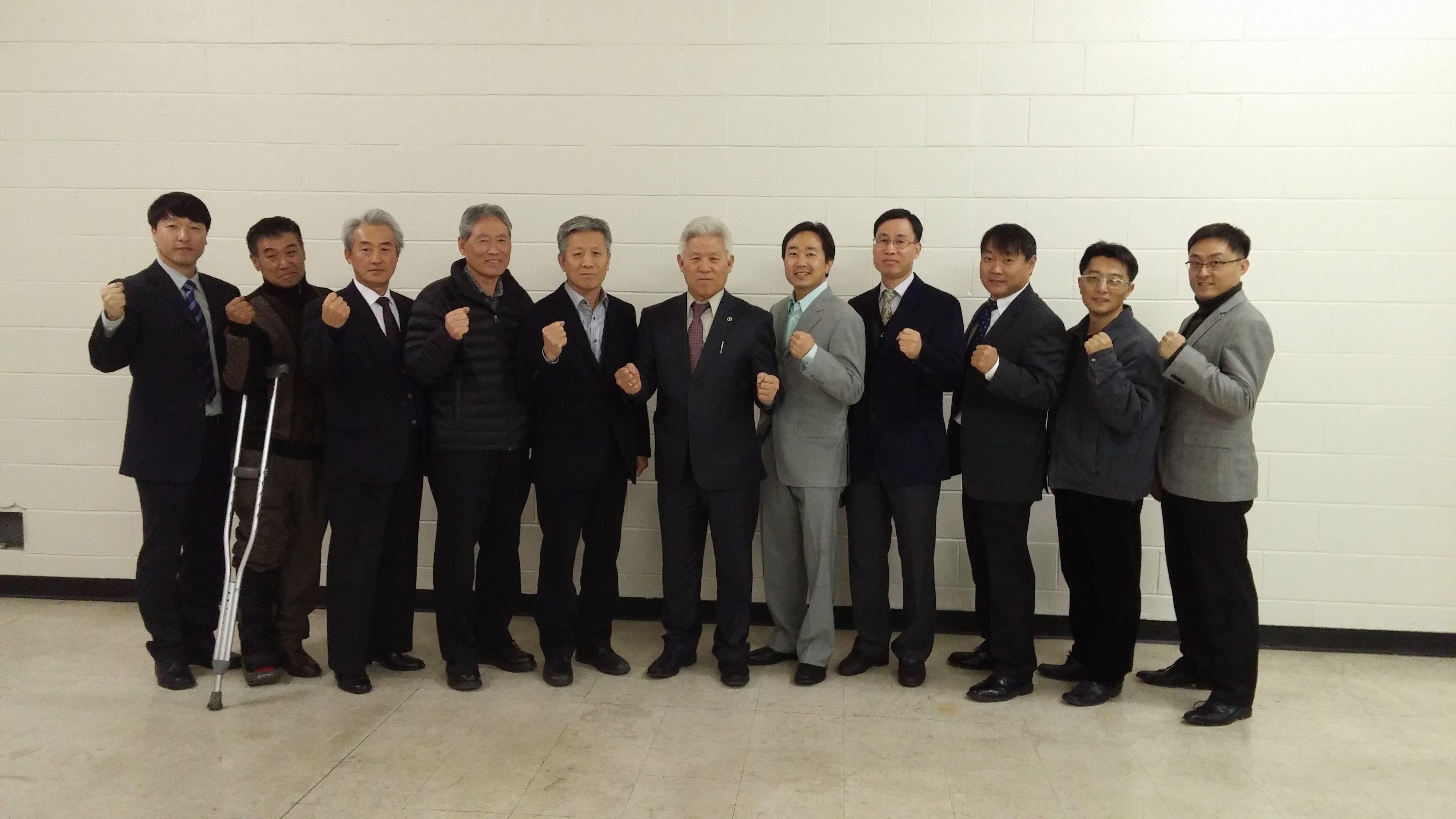 리노한인회 임원 및 이사 일부