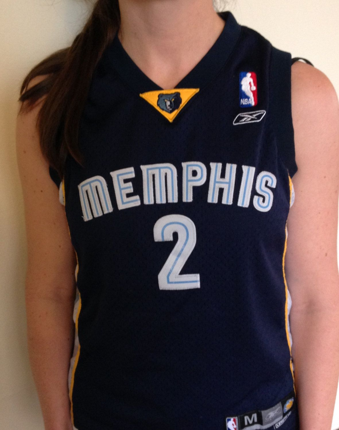 0b59dbfed Ladies NBA Stitched Jason Williams Memphis Grizzlies Basketball Jersey By  Reebok Extra Small by BucketBusterVintage on Etsy