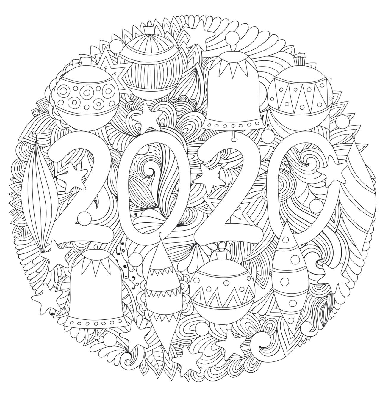 kleurplaat 2020 kleurplaten kerstmis kleurplaten en