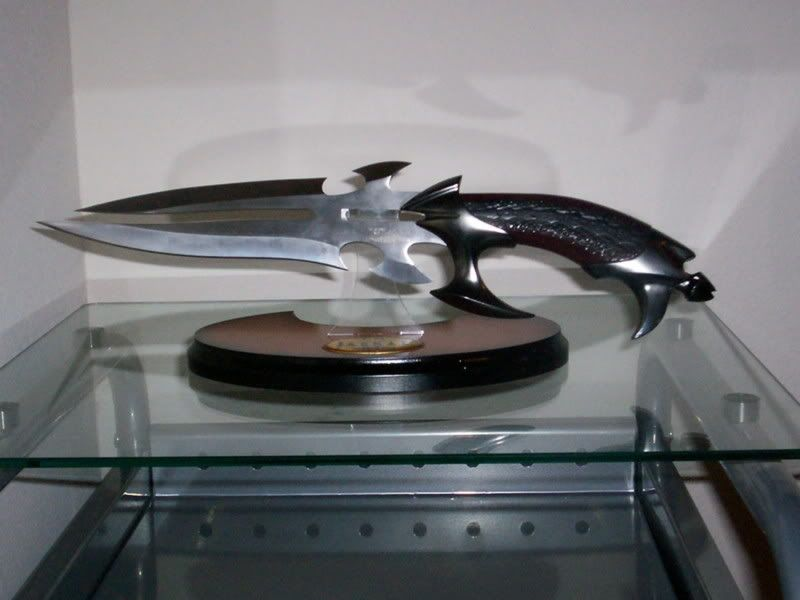 Faith's Knife, given to her by the Mayor in S3- I want it, I want it, I want it!!!!