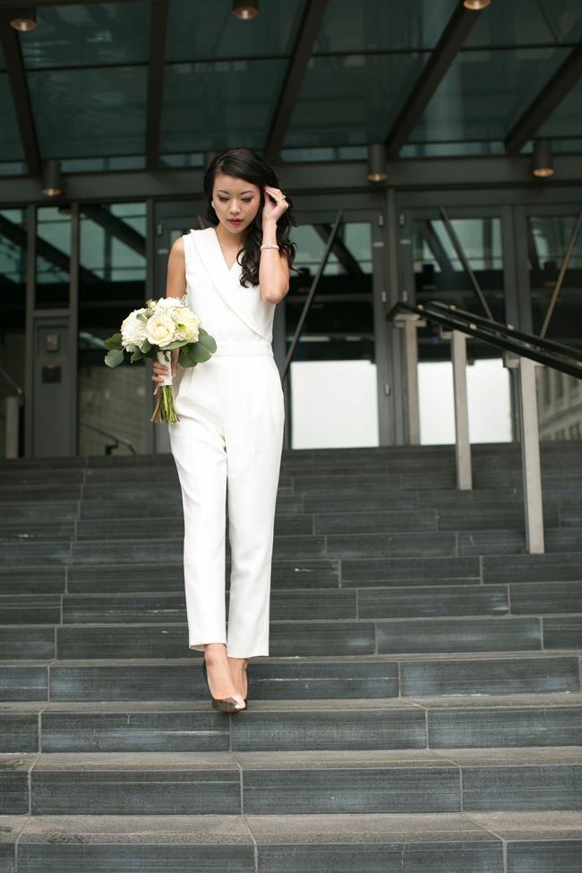 a06e0f28b3e City hall wedding dress inspiration for unique brides