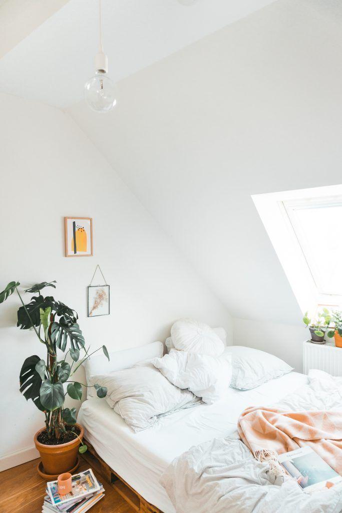 Date unterm Dach   Dachschräge einrichten, Haus interieurs ...