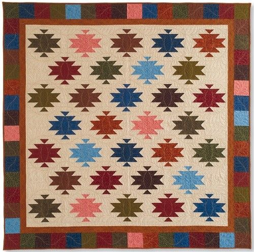 Santa Fe Trail Pattern Download Keepsake Quilting Log