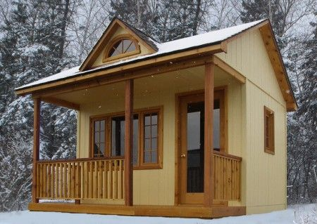 A Bunkie You Know A Dream House In The Woods With It
