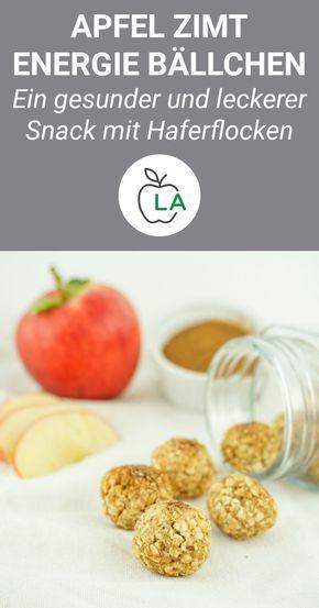 Apfel Zimt Energieballchen Gesunder Und Zuckerfreier Snack Mit Bildern Zuckerfreie Snacks Gesunde Snacks Gesunde Snacks Rezepte