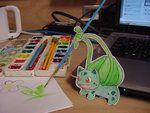 Paper Bulbasaur by *pettyartist on deviantART