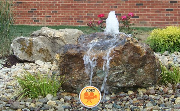 Pin By Andrea Munsey On Backyard Living Stone Water Features Pondless Water Features Outdoor Water Features