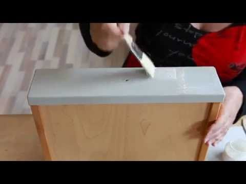 Relooker un meuble en bois #meuble #relooker   tutotubefr