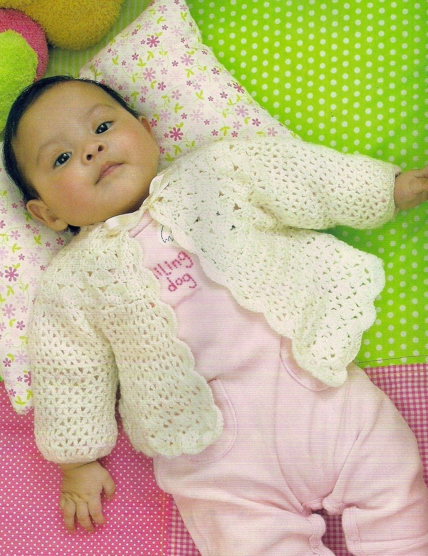 Chambrita de abanicos | Cosillas para bebés | Pinterest | Bebe ...