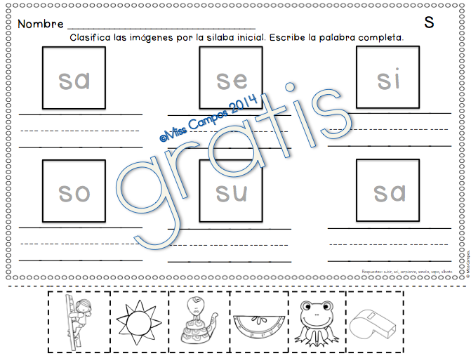 Pin En Spanish Resources For K 1