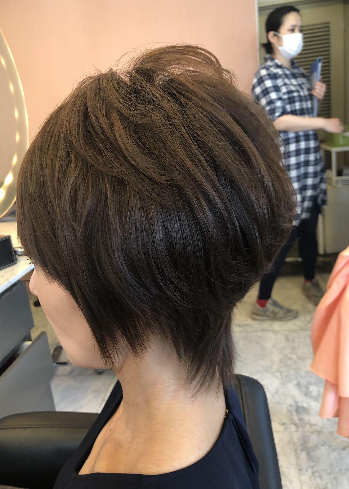 40代50代60代ヘアスタイル髪型 ショート 60代 ヘアスタイル ヘアスタイル 髪型