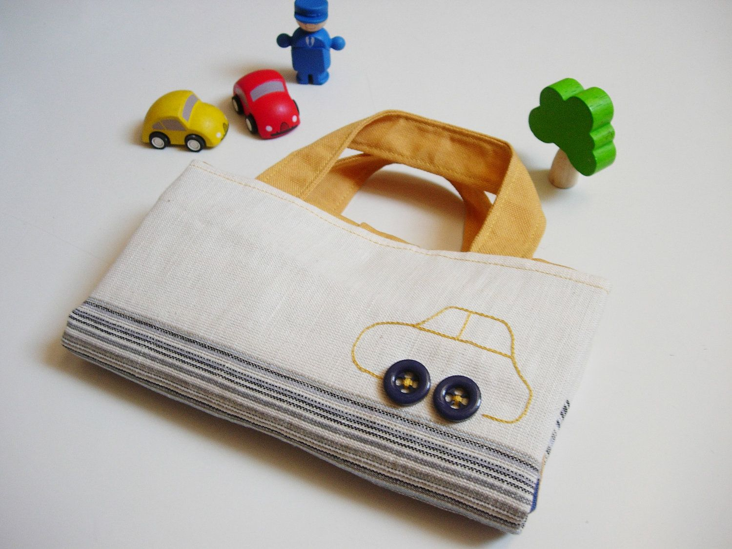 Car Roll Holder And Little Play Mat Sewing Toys All