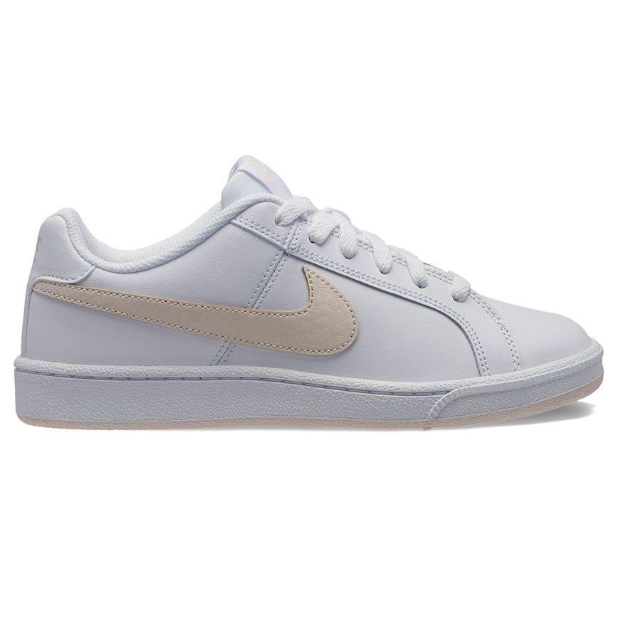 timeless design f3c16 e55ff Nike Court Royale Women s Sneakers, Size  8, White