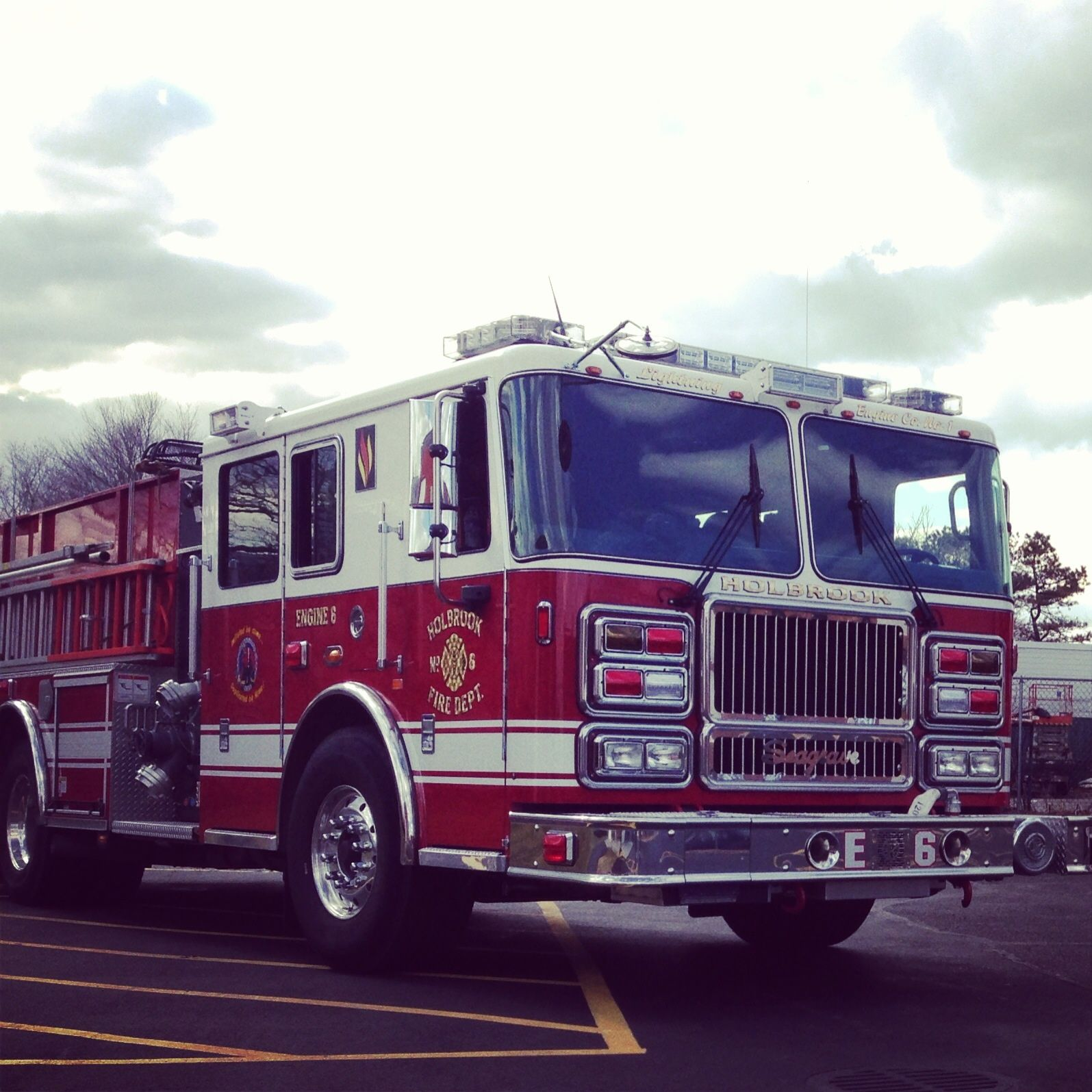Department Of Motor Vehicles Huntington Ny: Holbrook FD Seagrave Engine 6