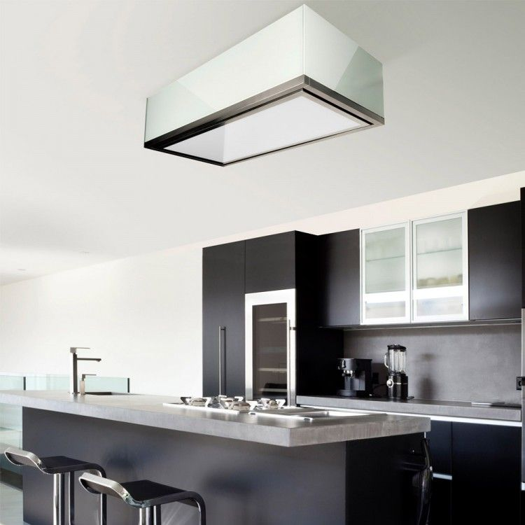 Lumen Ceiling Cooker Hood 1200mm X 600mm Kitchen