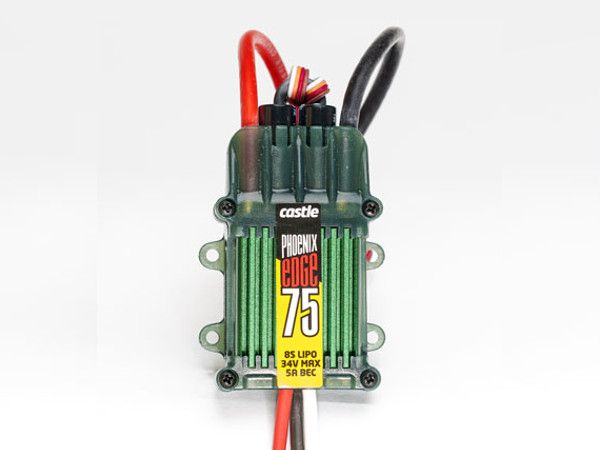 Castle PHX EDGE 75A ESC with 5A BEC for 2-8S LiPo