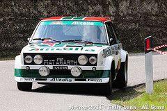 Fiat 131 Abarth Alitalia Pellegrin Renzo Pesavento Giorgio