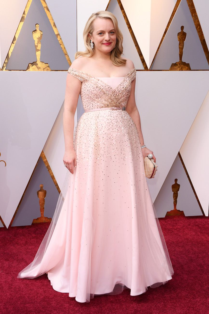 Elisabeth Moss In Christian Dior Couture – 2018 Oscars | Apparel ...