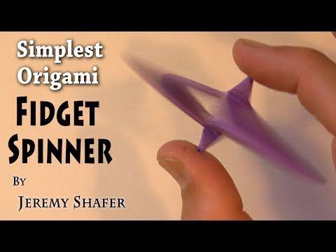 How To Fold An Origami Moving Flexagon Better Than A Fidget
