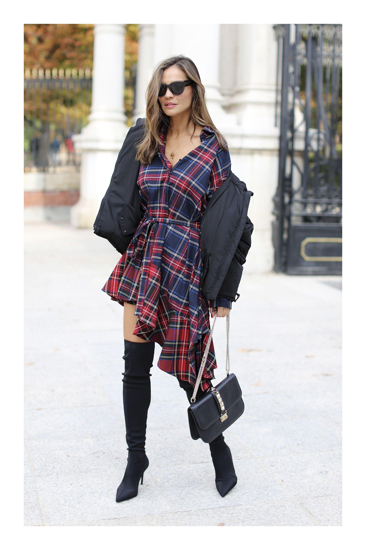6e6e1794ea2 Las mejores ideas para combinar tu vestido favorito con botas  TiZKKAmoda   look  vestido