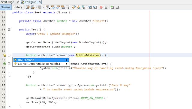 10 Things Java Developer Should Know About Lambda Expression Of Java 8 Java Tutorial Java Programming Java