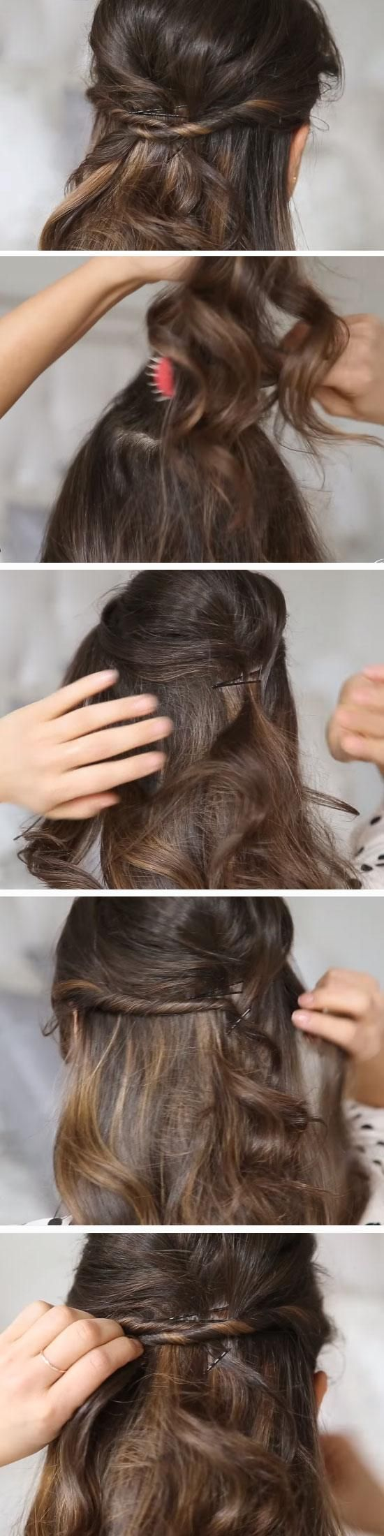 easy running late hairstyles for school running late hairstyles