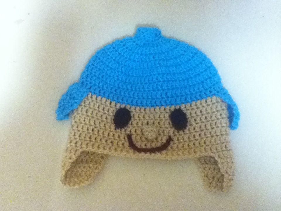 Crochet Pocoyo Hat $12.00 + $4.00 Shipping Total. $16.00 | Hat ...