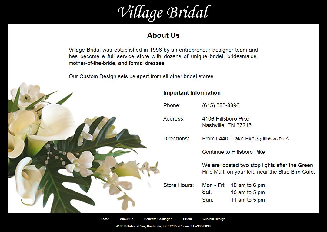 Village Bridal Bridal Shop In Nashville Tn 37215 Nashville Tn
